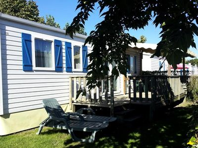 Photo for Camping Le Suroit *** - Mobile Home 3 Rooms 4/6 People