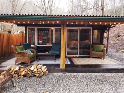 Photo for Creekside Cabin Bungalow