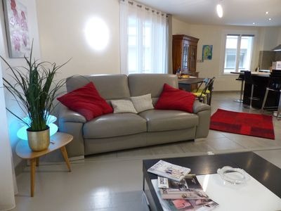Photo for Superb 4 rooms 92M2, redone, 4/6 pers, Park Tête d'Or Lyon 6 area