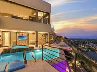 Hollywood Hills home in the desert.
