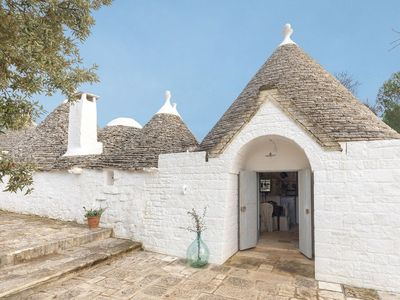 Photo for Charming Trullo with SPA pool for luxury relaxation