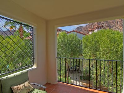 Photo for An Upstairs Legacy Studio with a King Bed steps from the Pool and Hot Tub!