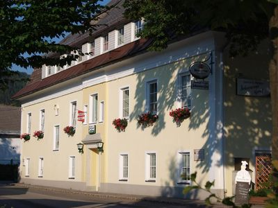 Photo for Gasthaus & Pension Schwarzer Graf - Double room with shower od. Bath / WC