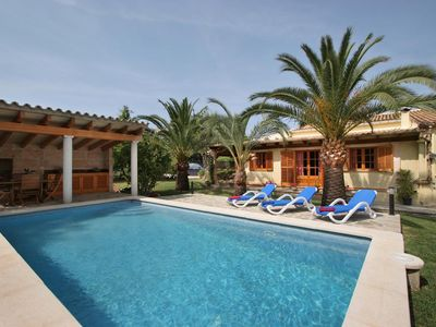 Photo for 3 bedroom Chalet, sleeps 6 with Pool, Air Con, FREE WiFi and Walk to Shops