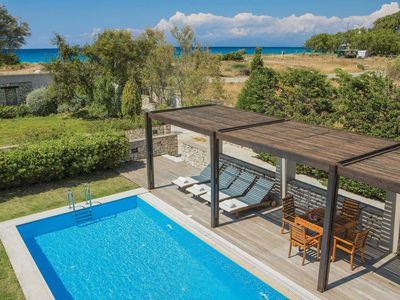 Photo for 2 bedroom Villa, sleeps 4 in Agia Marina with Pool, Air Con and WiFi