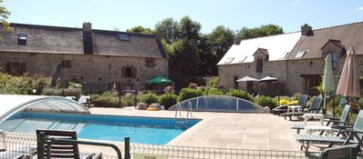 Photo for FOR LARGE FAMILIES OR GROUPS, HEATED ALL WEATHER ENCLOSED POOL AND HOT TUB