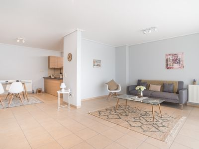Photo for Kallithea comfortable apartment near metro