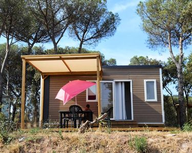 Photo for Camping Les Cigales **** - Mobile home Utah Eco 2 Rooms 4 People