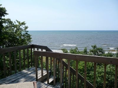 Front Deck view of Lake Michigan