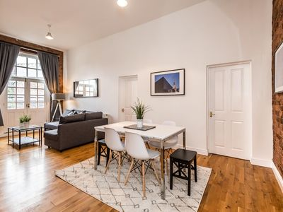 Photo for Unique 2 Bed Apt.with Exposed Brick in City Centre