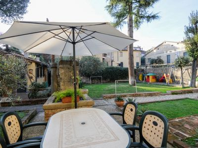 Photo for GROUND FLOOR APARTMENT  WITH GARDEN IN BEUATIFUL LUCCA TUSCANY