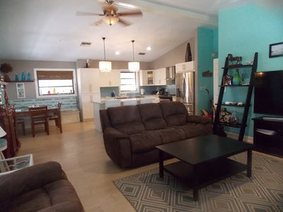 Photo for Deep Cleaned, Wonderful Pool Home, with private backyard!