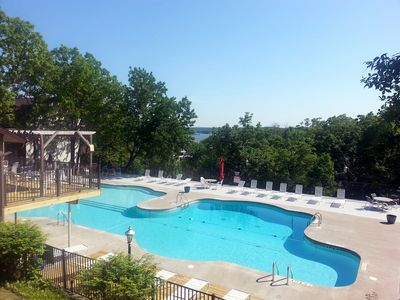 Photo for LAKEFRONT! VIEWS! LARGE POOL! PARK SETTING! Stay 7+ nights and SAVE $$