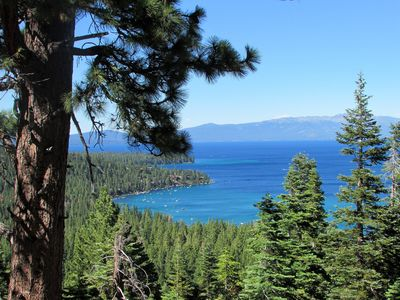 Photo for STUNNING Panoramic views of Rubicon Bay! private beach, pier access