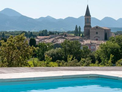 Photo for In the heart of the Drôme Provençale, house 140 m² not overlooked near village