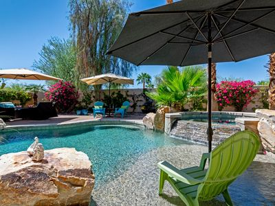 Photo for Desert Paradise with gorgeous pool and spa!