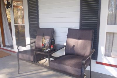 Outside chairs on Terrace
