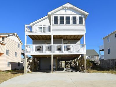 Photo for 6 Bedroom Oceanfront With Pool And Hot Tub! South Nags Head, Pet Friendly
