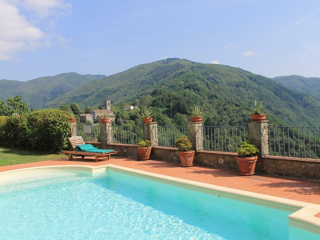 Bagni Di Lucca - 22563004: Lovely apartment with pool, WIFI, TV ...
