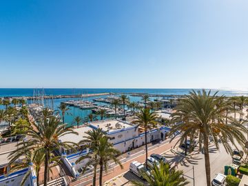 Estepona Port and Marina, Estepona, Andalusia, Spain