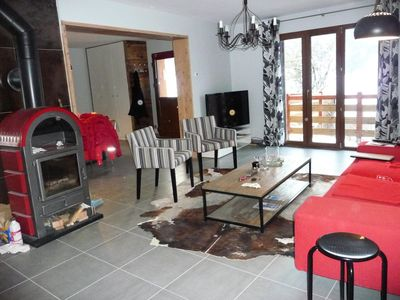 Photo for Chalet beautiful mountain view near Valmorel - Chalet 5 rooms 8 people