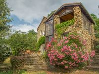 Charming detached stone house very homely with a great view