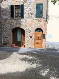 Photo for typical Tuscan house in ancient village near Siena