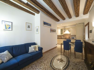 Photo for CASTELLO/BIENNALE, APARTMENT ON THE GROUND FLOOR WITH VIEW OVER THE CANAL