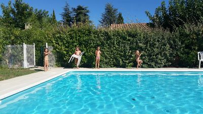 Photo for Iris house with pool in the center of a small Provencal village of Var.