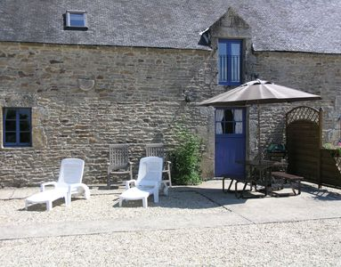 Photo for 2BR Cottage Vacation Rental in Camors, Bretagne