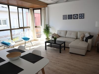 Photo for Cozy flat next to the beach!