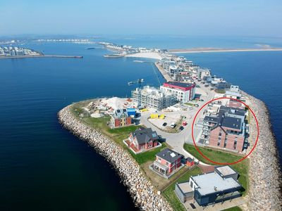 Photo for Comfort Apartment Waterkant by Meer-Ferienwohnungen - WG 08 - Apartment with direct sea view