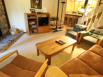 Photo for Rustic and Comfortable, Walk to Eagle Lodge