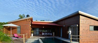 Photo for Luxury villa with magnificent mountain views and HEATED SWIMMING POOL