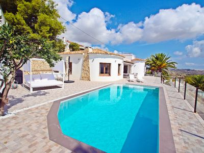 Photo for Suerte - sea view villa with private pool in Moraira