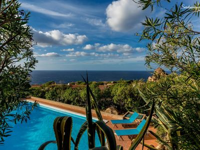 Photo for PROFESSIONAL DISINFECTION - Villa with pool and seaview: Agave