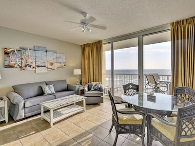 Photo for 510 Majestic Tower 1 2 Bed 2 Bath Gulf Front Unit