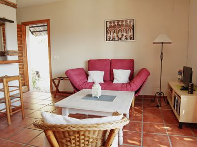 Photo for Studio with large terrace and wonderful view of Vejer