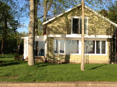 Photo for Sunset Haven   Lakefront Home - Convenient To Sylvan Beach Yet Private