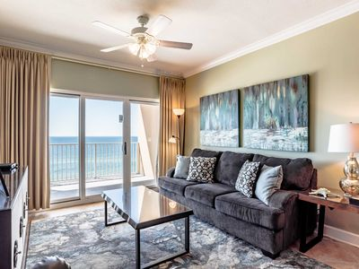Photo for Beachfront Condo with Private Balcony! Community Pools and Amenities! Near Great Attractions, Dining, and More!