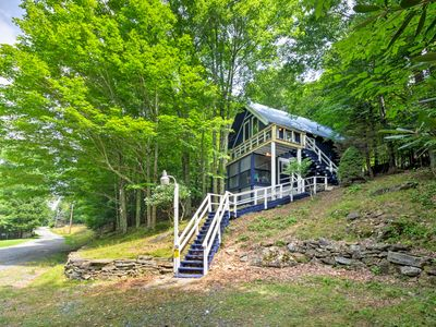 Photo for Spacious & Secluded Beech Mountain Family Chalet!