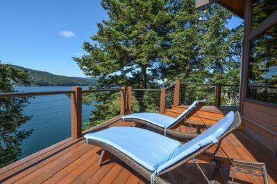 Now this is how you vacation in the San Juan Islands!