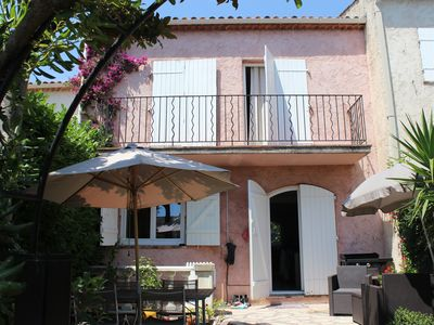 Photo for Nice terraced house on the Cote d'Azur ideal for holidays