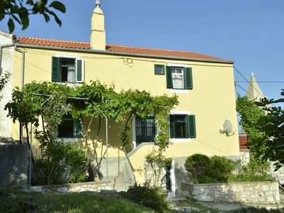 Photo for Island Cres, Stivan, lovingly restored village house above the Adriatic bay Merasci