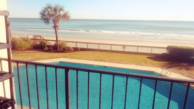 Photo for 1St Floor Oceanfront_25 Steps to the Beach_3BD 2BA_Friendly/Quiet Building