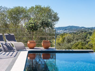Photo for Tasteful class Villa with pool and stunning views