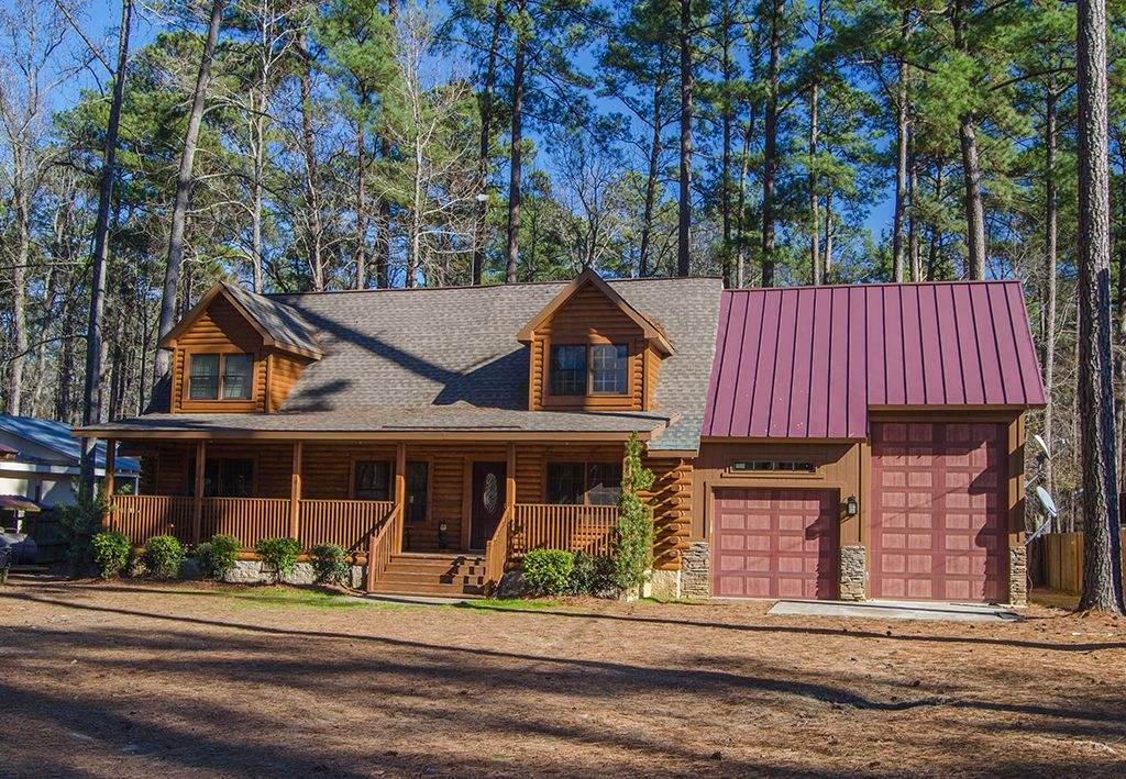 Log home located on clark hill strom thurmond lake with - 8 bedroom cabins in north georgia ...