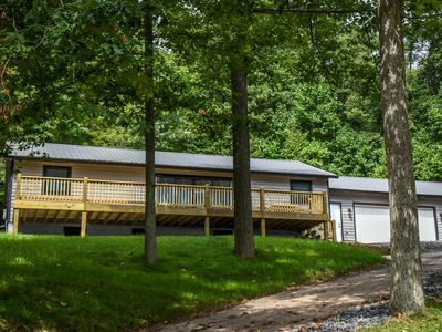 Photo for Little Bear: Recently Updated Split Lakefront Home with a Private Dock