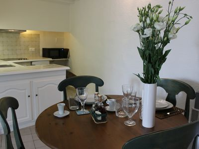 Photo for Newly renovation 3rd Flr apartment, Sleeps 4, 1 full shower room in Ceret Centre
