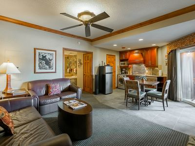 Photo for Cozy Ski-In/Ski-Out Westgate Resort & Spa Condo